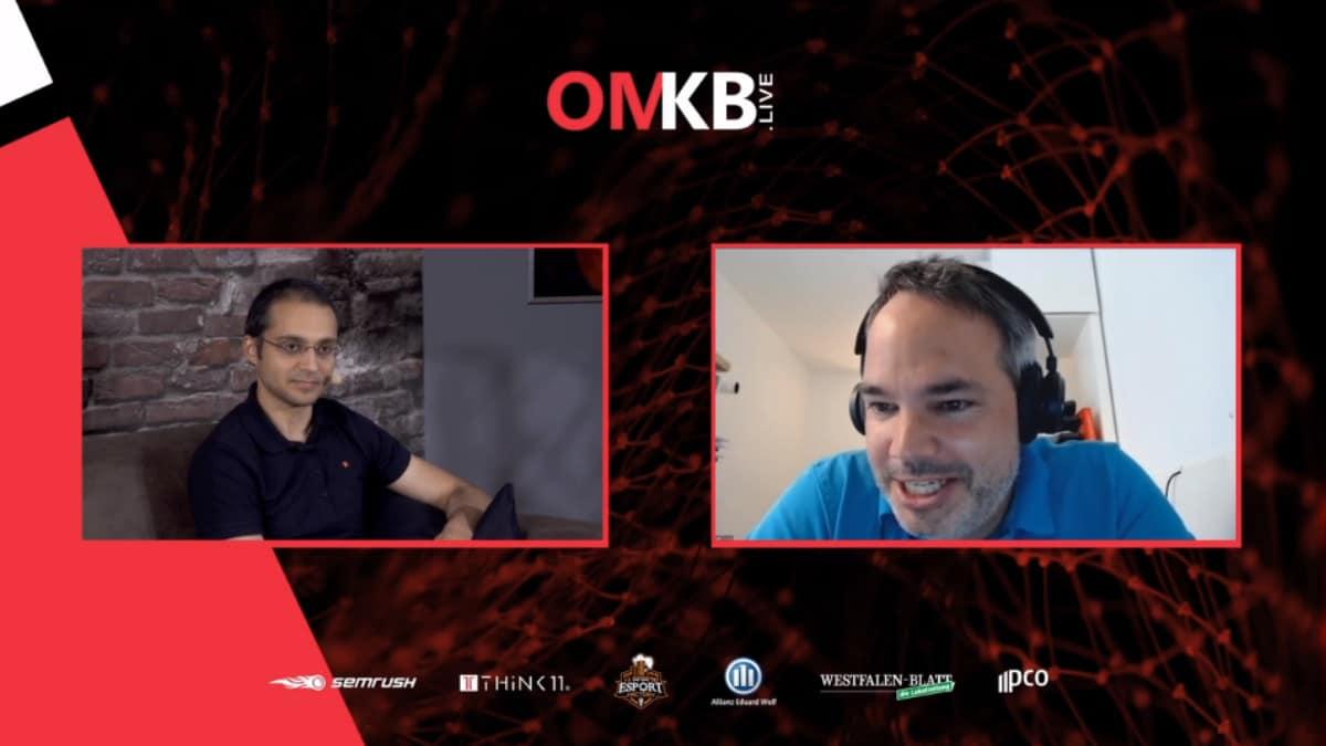 Dr. Florian Heinemann (Project A) und Schahab Hosseiny (Think11) im virtuellen Interview zum Thema Programmatic Advertising bei der OMKB.live